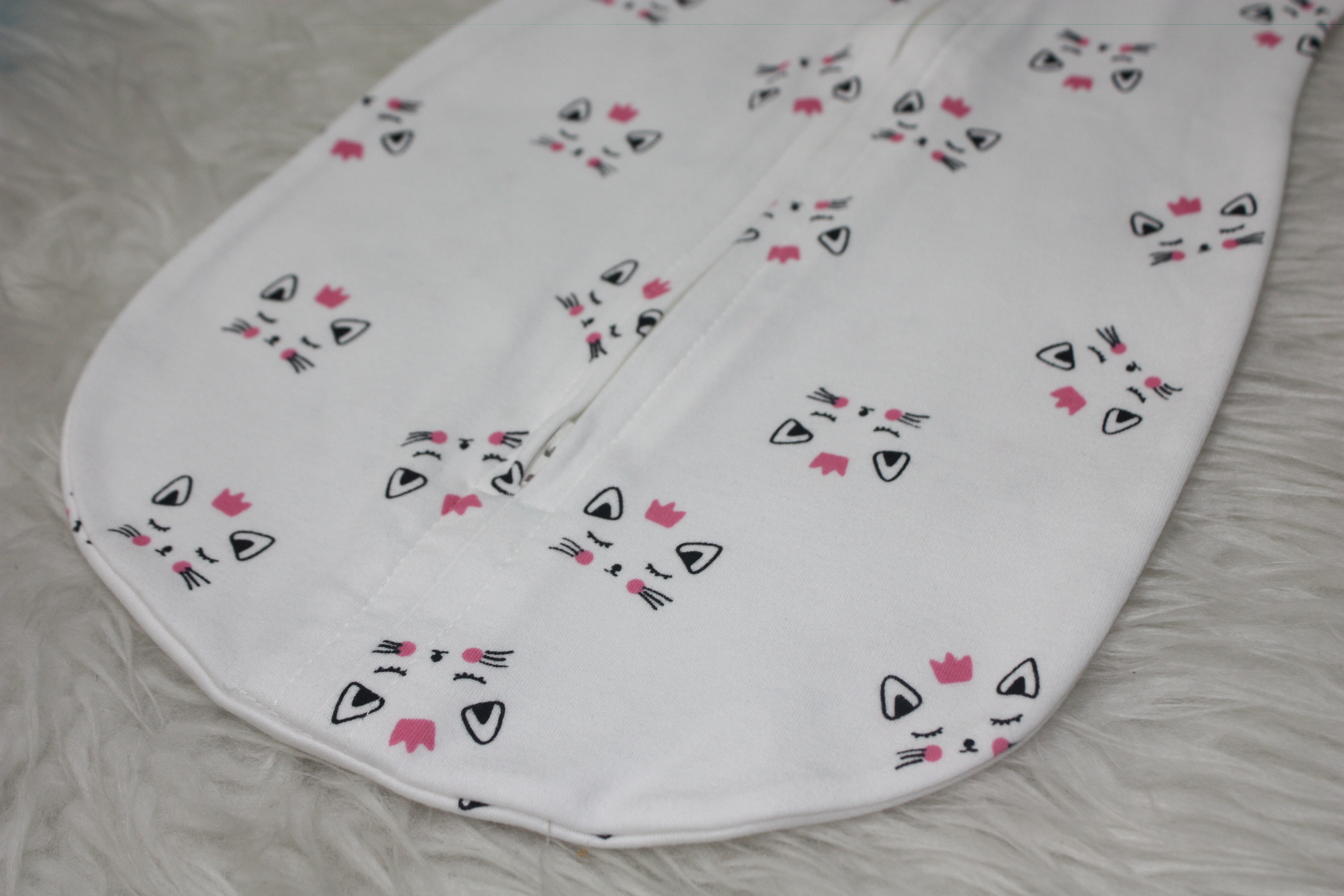 Pinky Cat Tot Swaddle Gugu Store